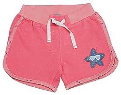 Sigikid Mädchen Sweatshorts, Mini Shorts, Rosa (Pink Lemonade 147), (Herstellergröße: 104)