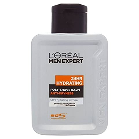 L'Oreal Men Expert 24 Hour Hydrating Post Shave Balm 100ml (PACK OF 2)