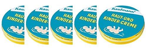 Kaufmanns - Haut Und Kindercreme - 5 X 75 Ml = 375 Ml / 12.68 Oz Trust Quality by TREATMENT SKINCARE