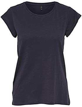 Only Onlbone O-Neck Ss Top Noos, Camiseta para Mujer