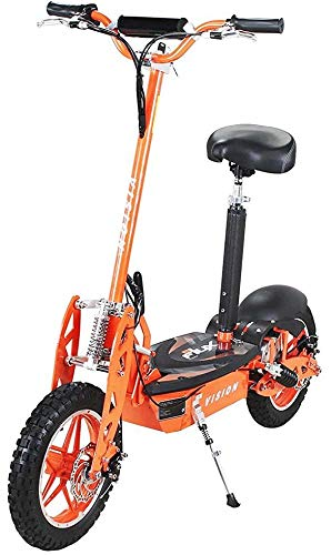 E-Scooter Roller Original E-Flux Vision mit 1000 Watt 36 V Motor Elektroroller E-Roller E-Scooter in vielen Farbe (orange)