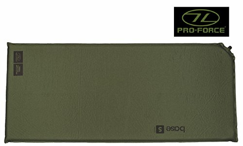 Highlander Army Military Self Inflating Air Bed Camping Mattress Foam Sleeping Mat Roll Green 2