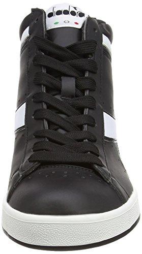 Diadora Game P High, Sneaker Col Roulé Mixte Adulte Noir (Nero)