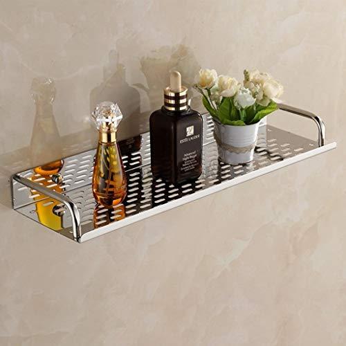 JVCAN Edelstahl Chrom Badezimmer Regale Küche Wandregal Dusche Lagerregal Bad-Accessoires, 30cm Länge