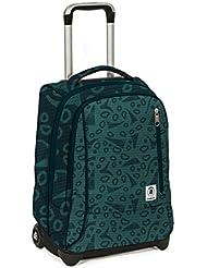 Invicta–Trolley tindy- verde azul–36LT spallacci Totalmente. Uso mochila escolar y viaje