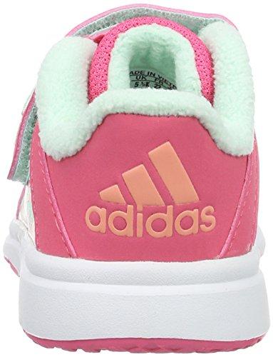 adidas Snice 4 CF I - Scarpe da Ginnastica Unisex Bebè, Taglia 22, Colore Rosa