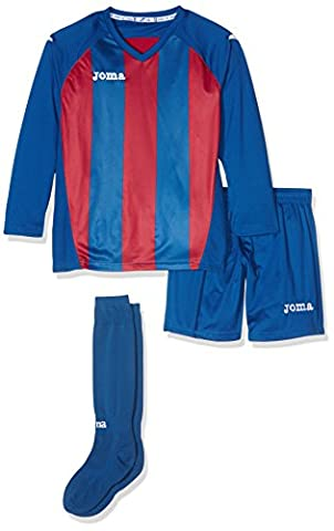 Joma 3202.99.015 Ensemble de sport Bleu/Rouge Intense FR : 6-8 ans (Taille Fabricant : 6-8)
