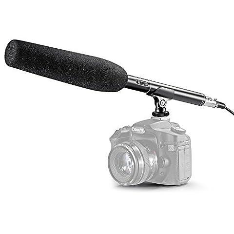 Neewer® 14.17 pouce / 36cm MIC Microphone Professionnel Caméra Caméscope