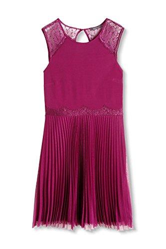 ESPRIT Collection Damen Kleid Rot (PLUM RED 605)