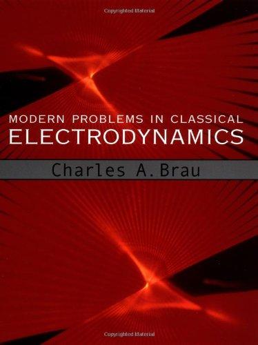 Modern Problems in Classical Electrodynamics (Physics) por Charles A. Brau