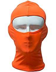 Moolecole Mujeres / Hombres Gorra De Natación Sol Natación Máscara De Protección Sombrero De La Nadada Anti-Insecto Máscara De Buceo Con Escafandra Morder Casquillo De Buceo Naranja