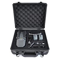 Anbee Aluminum Hard Case Suitcase Box for DJI Mavic Pro Drone, Black from Anbee
