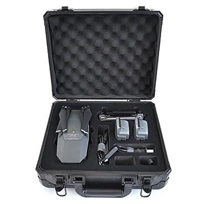 Anbee Aluminum Hard Case Suitcase Box for DJI Mavic Pro Drone, Black from Anbee