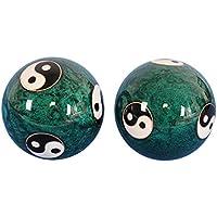 Gesundheit Ball Chinesische Traditionelle Fitness Ball Cloisonne Taiji Dekompression Handball 50Mm280g, Grün,B... preisvergleich bei billige-tabletten.eu