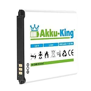 Akku-King Batterie pour Samsung Galaxy XCover 2, GT-S7710 - Li-Ion remplace EB485159LA, EB485159LU - 1850mAh