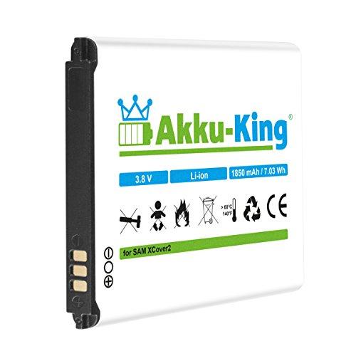 Akku-King Akku für Samsung Galaxy XCover 2, GT-S7710 - ersetzt EB485159LA, EB485159LU - Li-Ion 1850mAh (Virgin Samsung Mobile 5)