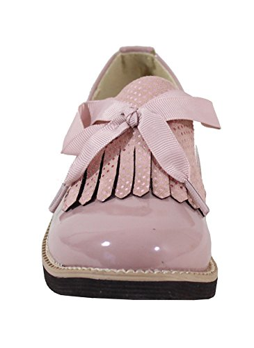 By Shoes Scarpe Stringate Basse Donna Pink