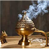 Apartment18 Home Purifying Brass Dhuni Hand Loban