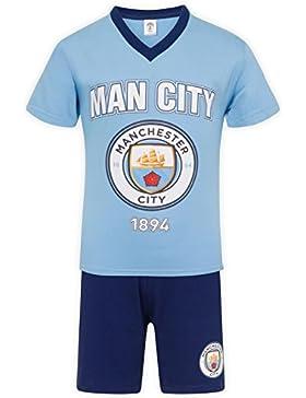 Manchester City FC - Pijama corto para niño - Producto oficial