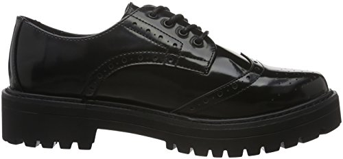 XTI Damen 65337 Oxford Schwarz (Black)