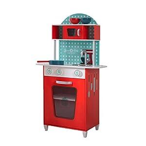 Beluga 68001 - Juguetes Dulce y Cocina Sencilla, de Madera, de Color Rojo