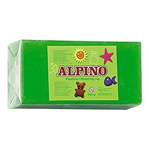 Alpino DP000075 – Plastilina, color verde prado