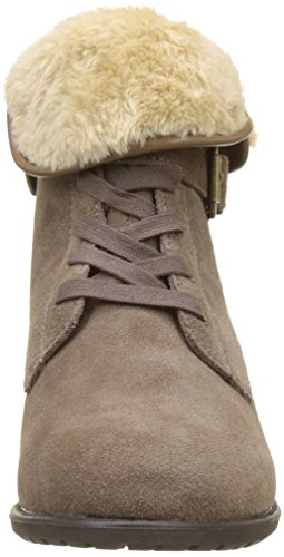 Hush Puppies Damen Margarida Kurzschaft Stiefel Braun (Hellbraun)