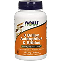 Now Foods, 8 Billion Acidophilus & Bifidus, 120 Veg. Kapseln