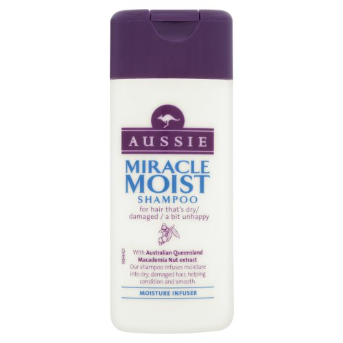 Aussie Miracle Moist Shampoo 75 ml Travel Pack (Pack of 24)