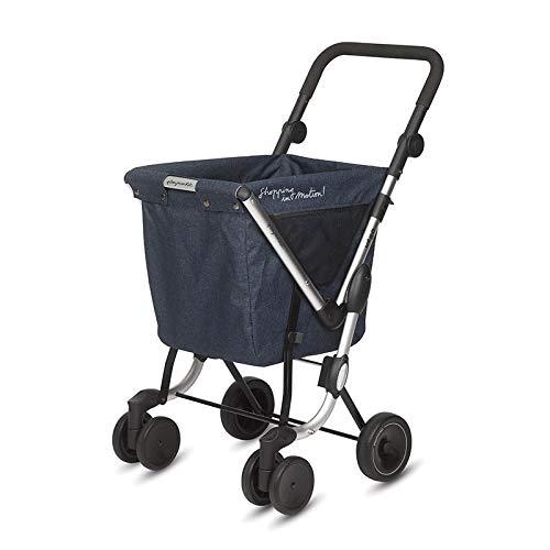 Einkaufstrolley mit offener Tasche Playmarket We Go Jeans