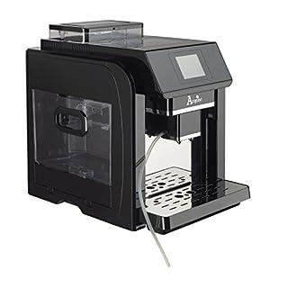 Acopino 329 Monza Kaffeevollautomat, farbiges Grafikdisplay, 2 L Wassertank, 300 g Bohnenbehälter, schwarz