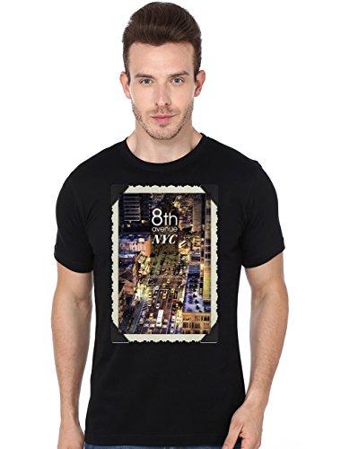 Beyond Colours Men T-Shirt New York Avenue Black XXX-Large