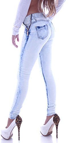Style-Station -Jeans Bambina Donna Blau
