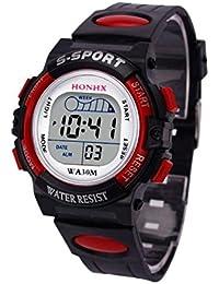 96c09d56c7e1 Amazon.es  reloj pared led - Incluir no disponibles   Niño  Relojes