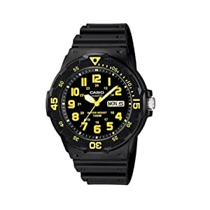 Casio Enticer Analog Black Dial Men's Watch - MRW-200H-9BVDF (A745)