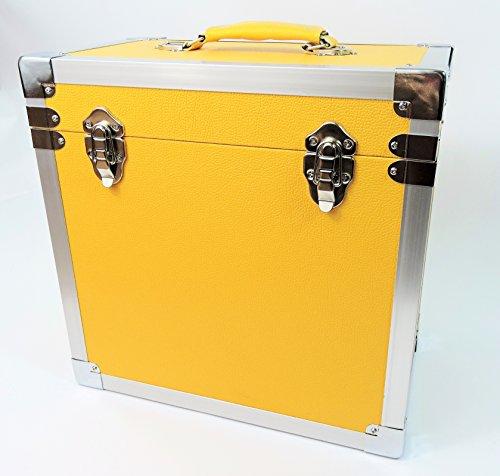 steepletone-lp-album-vinyle-dj-enregistrement-boite-de-rangement-flight-case-jaune-30-x-30-x-20-cm