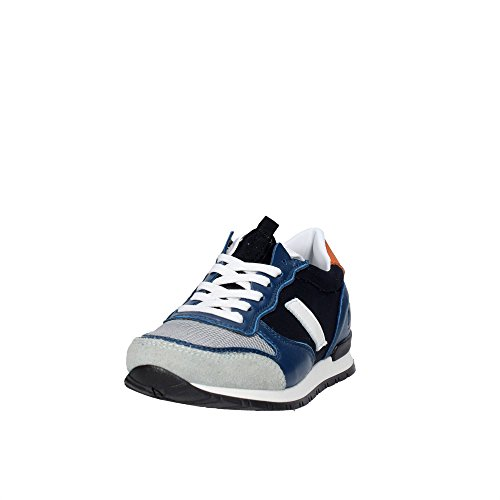 D.a.t.e. BOSTON-86 Sneakers Boy Blau/Grau
