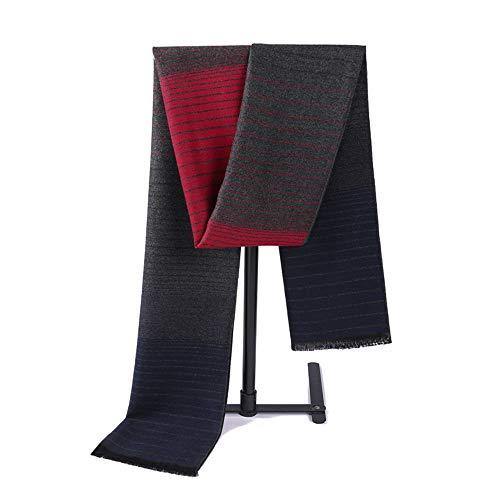 Junjiagao Kreativer Streifen-Muster-weicher Schal der Männer bequemer Schal-Kleidungs-Accosseries passend für Formale Gelegenheit