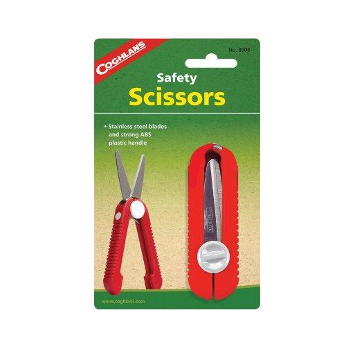 41VEzY7yqVL. SS500  - Coghlan's Safety Scissors - Red