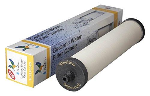Vela de cartucho de filtro de agua Doulton para Franke Triflow y Filterflow, todas las carcasas de...