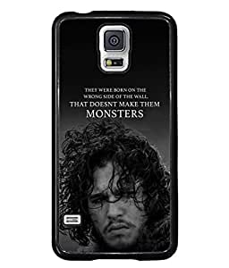 PrintVisa Designer Back Case Cover for Samsung Galaxy S5 Mini :: Samsung Galaxy S5 Mini Duos :: Samsung Galaxy S5 Mini Duos G80 0H/Ds :: Samsung Galaxy S5 Mini G800F G800A G800Hq G800H G800M G800R4 G800Y (The Monsters Cool Design)