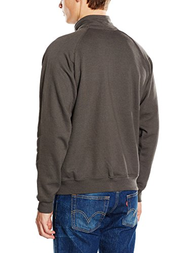 Fruit of the Loom Herren Sweatshirt Light Graphite