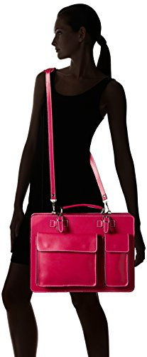 Bags4Less Unisex-Erwachsene Mondial Laptop Tasche, 10 x 30 x 40 cm Pink (Pink)