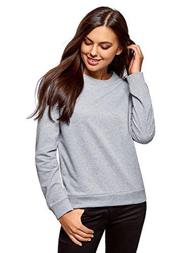 oodji Ultra Damen Baumwoll-Sweatshirt (2er-Pack), Mehrfarbig, DE 42 / EU 44 / XL