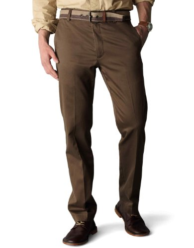 Herren Dockers-style Hose (Dockers Herren Hosen, casual, Durchgehend Gr. 36W x 32L (US Größe), Branch (Cotton)-discontinued)