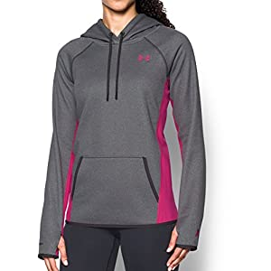 41VF0g3OXaL. SS300  - Under Armour Women's Armour Fleece Hoodie-Solid Warm-up Top