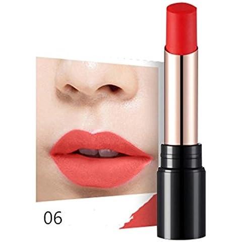 Fortan Sexy idratante Long Lasting impermeabile rossetto opaco trucco Glossy Lip Gloss - F
