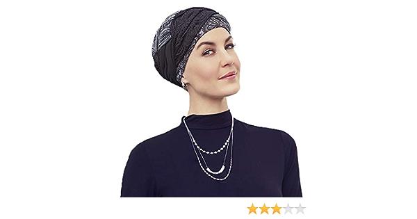 Christine Headwear Turban Guna Rococo Lace f/ür Chemotherapie Bambus-Innenseite Alopecia
