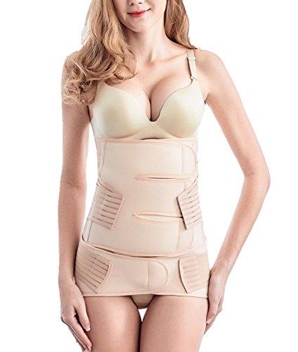 2 in 1 Postpartale Unterstützung Gürtel - Taillengürtel mit Beckengürtel - atmungsaktiv und elastisch