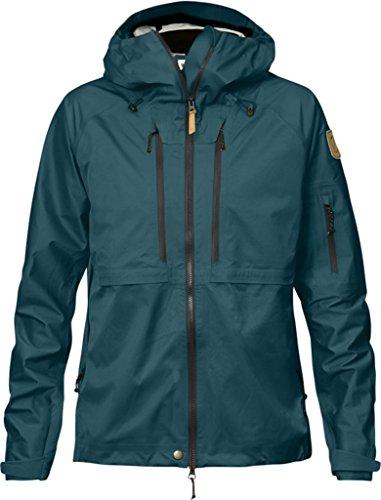 Fjällräven Keb Eco Femme Shell Jacket W hardshelljacke Glacier Green